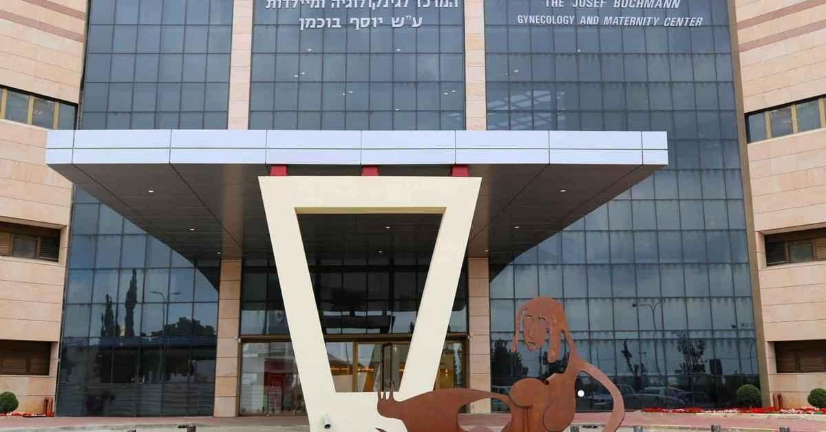 Отделение ЭКО в больнице Шиба