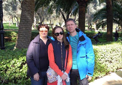 Ponomorov Family